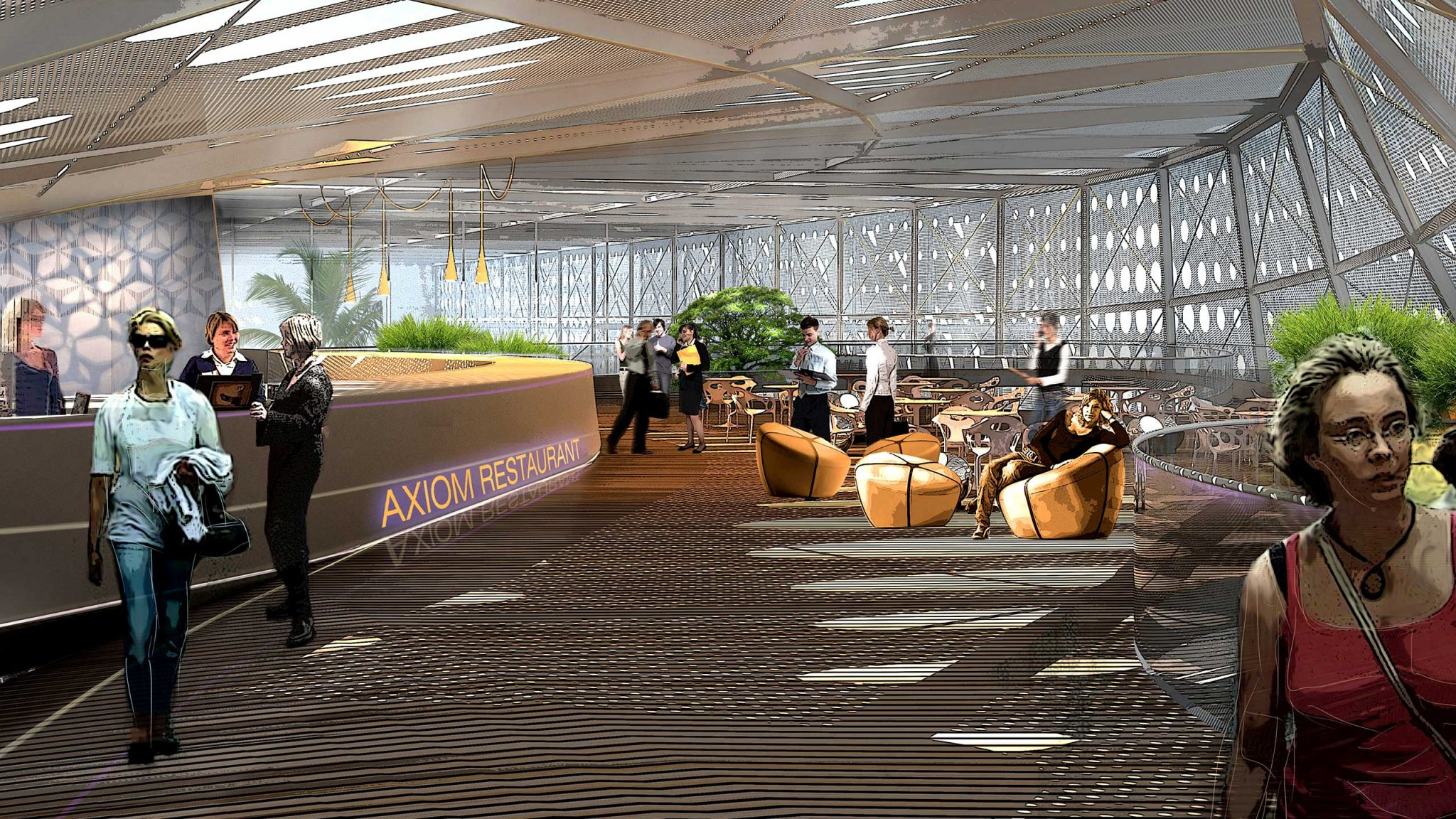 Axiom Town | Naga Architects | Commercial