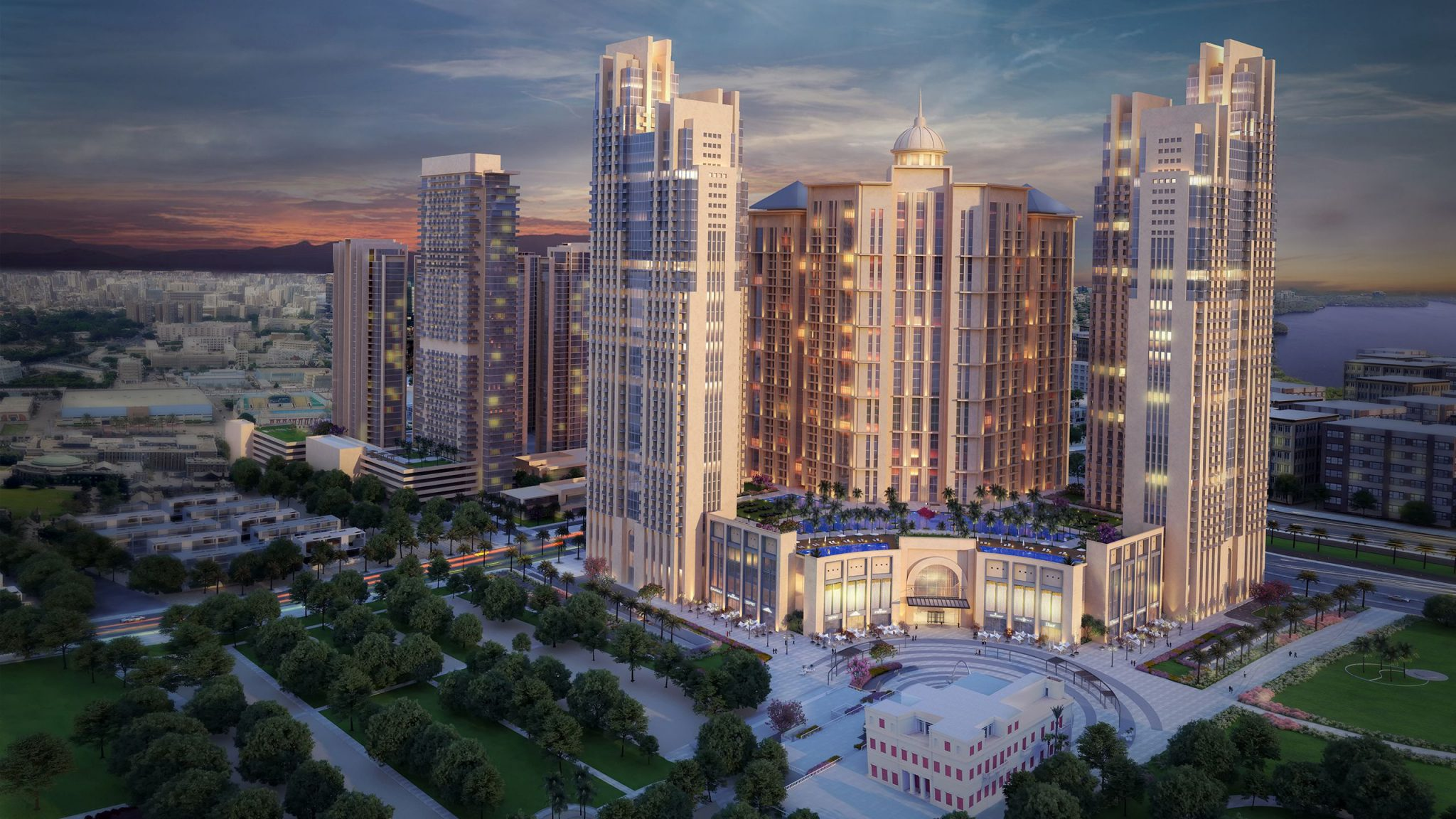 COMMERCIAL DEVELOPMENT IN ANTONIADES ALEXANDRIA